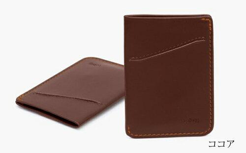【正規販売】本革財布ベルロイBellroyカードスリーブBRWCSA極薄スリムコンパクトカードケース