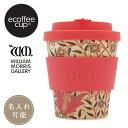 ecoffee cup エコーヒーカップ 600605 EARTHLY PARADISE 8oz/240ml WILLIAM MORRIS ウィリアム・モリス
