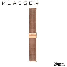 【正規販売】KLASSE14 クラスフォーティーン クラス14 Volare ベルト 替えベルト 20mm メンズ