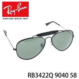e8b525cdb0 レイバン サングラスRayBan RB3422Q 9040 58 アビエイター クラフト アウトドアーズマン レザー メンズ レディース