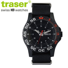 【正規販売】Traser トレーサー TYPE6 MIL-G RED メンズ クオーツ 腕時計 P6600.41F.1Y.01 red 日本限定