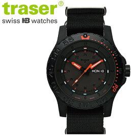 【正規販売】Traser トレーサー TYPE6 MIL-G RED COMBAT メンズ クオーツ 腕時計
