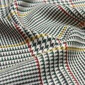 TAFポリエステルレーヨン混紡アーバンチェック(生地布洋服地子供服グレンチェック千鳥柄ハンドメイド綿100%)