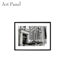 アートパネル ニューヨーク ウォールストリート モノクロ 壁面 インテリア おしゃれ ウォールパネル