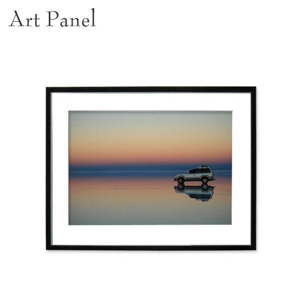 インテリアアートパネル ウユニ塩湖 おしゃれ ウォールパネル 風景 ウォールデコ 額縁 室内 自宅 店舗