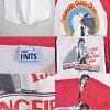 復古1981年USA製造/RICK SPRINGFIELD裏克斯普林菲爾德/Working Class Dog工人階級狗/旅遊插肩式T恤/白×紅/人M適合○♪
