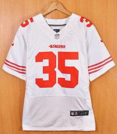 8cbb822b020 NIKE ナイキ NFL SAN FRANCISCO 49ers サンフランシスコ フォーティーナイナーズ エリック・リード フットボールシャツ  ナンバリング