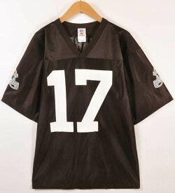 43ab29e19b4 NFL PLAYERS NFL Cleveland Browns クリーブランド・ブラウンズ ブレイロン・エドワーズ フットボールシャツ ナンバリング  ユニフォーム ダーク