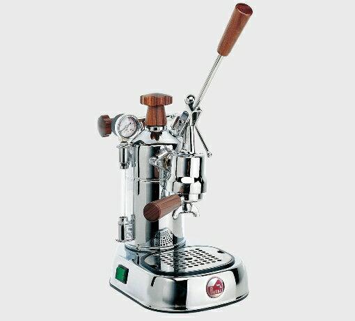 コーヒーマシン エスプレッソ コーヒーメーカーLa Pavoni( ラ・パボーニ )「 プロフェッショナル PLH(木製ノブ仕様) 」正規輸入品・送料無料