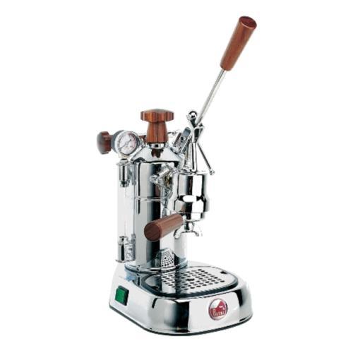 期間限定価格!コーヒーマシン エスプレッソ コーヒーメーカーLa Pavoni( ラ・パボーニ )「 プロフェッショナル PLH(木製ノブ仕様) 」正規輸入品・送料無料
