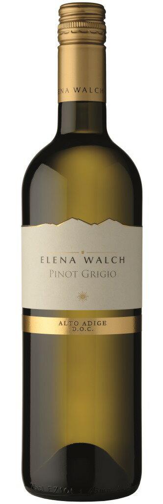 【イタリアワイン】《ELENA WALCH》【 Pinot Grigio Alto Adige DOC 2016 】エレナ・ワルクピノ・グリージョ アルト・アディジェ 2016750ml(白ワイン)