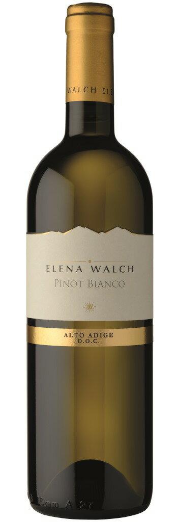 【イタリアワイン】《ELENA WALCH》【 Pinot Bianco Alto Adige DOC 2016 】エレナ・ワルクピノ・ビアンコ アルト・アディジェ 2016750ml(白ワイン)【】