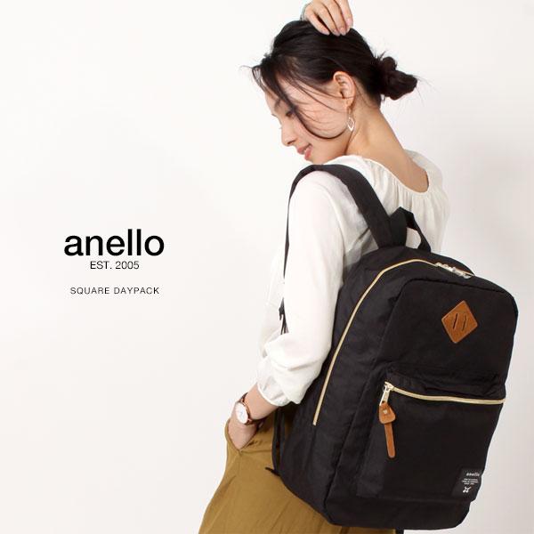 anello/アネロ スクエア デイパック/リュックサック リュック 25L AT-B0191