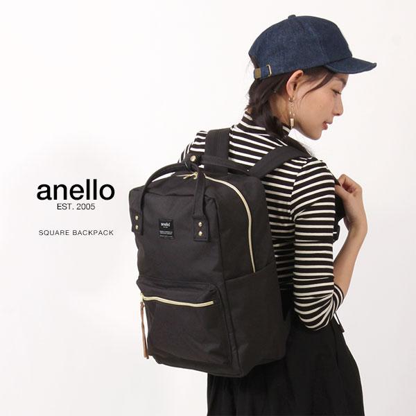 anello/アネロ スクエア デイパック/リュックサック リュック