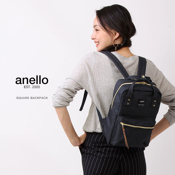 anello/アネロ スクエア デイパック ミニ/リュックサック リュック