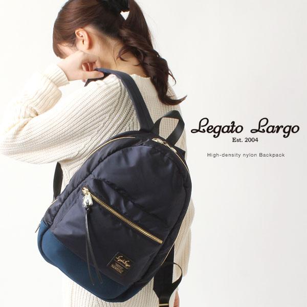 Legato Largo/レガートラルゴ ナイロン バックパック/高密度ナイロン /リュックサック リュック