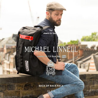 迈克尔 · 林内 / Michael 亚麻毫升-012 反射回拉链暗袋