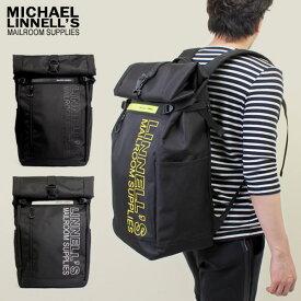 MICHAEL LINNELL/マイケルリンネル ML-027 Roll Top Bag リフレクター リュックサック バックパック 45L A4 鞄 レディース メンズ