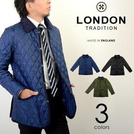 LONDON TRADITION/ロンドントラディション キルティング コート ジャケット ブルゾン イギリス製 メンズ MEN-001