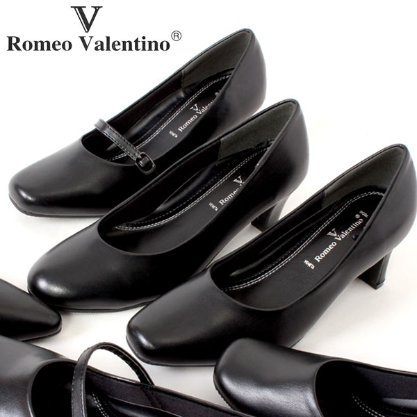 RomeoValentino/ロメオバレンチノ コンフォートパンプス/痛くない 外反母趾