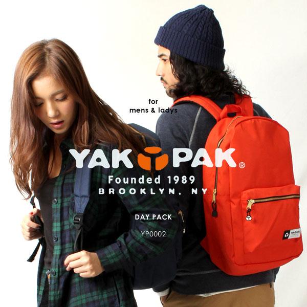 YAKPAK/ヤックパック YP0002 リュック デイパック バックパック