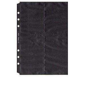 【お買い得品】日本能率協会 バインデックス システム手帳リフィルA5サイズ名刺ホルダー(薄型タイプ) A5521
