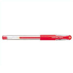 ユニボール シグノ 極細シリーズ [赤] 0.38mm UM151