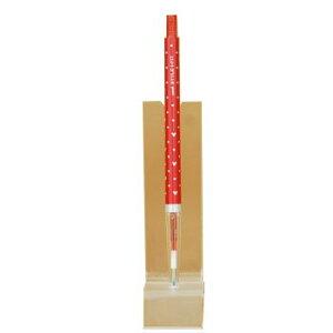 スタイルフィット ディズニー ゲルインクボールペン ノック式 0.38mm(リフィル入) UMN-159DS-38 [赤]
