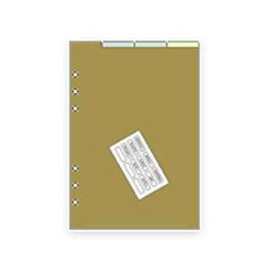 【お買い得品】レイメイ システム手帳リフィル ダヴィンチ A5 カラーインデックス DAR508