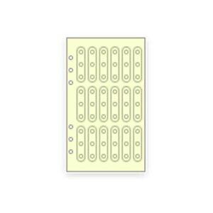 【お買い得品】レイメイ システム手帳リフィル ダヴィンチ バイブル 補強シール DR334