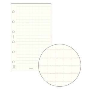 【お買い得品】レイメイ 軽くて丈夫な方眼罫ノート ポケット Davinci トモエリバー 68N リフィル 6.0mm方眼 DPR4307