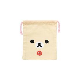 リラックマ コップ巾着 【コリラックマフェイス】 サンエックス CS85301