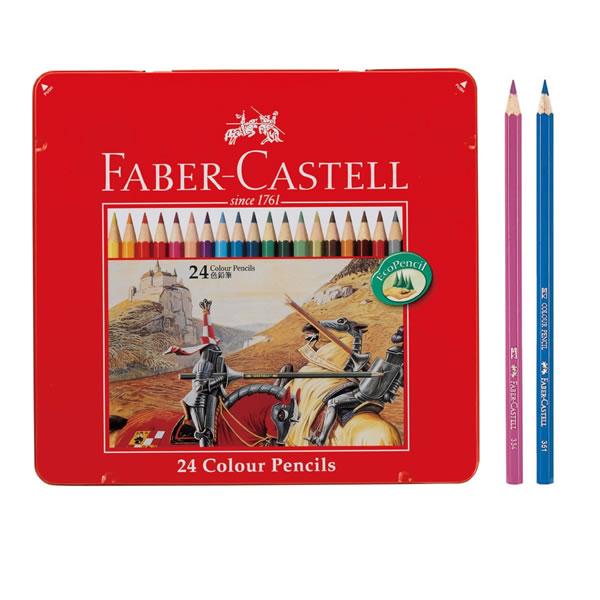 ファーバーカステル 色鉛筆24色セット 744129 シャチハタ TFC-CP-24C