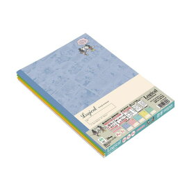 ディズニー スウィングロジカルノート(5冊パック) B5 【ミッキー&フレンズ/パステルコミック】 ナカバヤシ ノS-141A-5P 【メール便OK】
