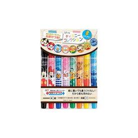 紙用マッキー極細 ディズニーコレクション2 8色セット ゼブラ WYTS18-DS2-8C