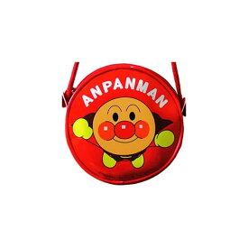 アンパンマン 丸ポシェット 【赤】 伊藤産業 ANA-1200-010868