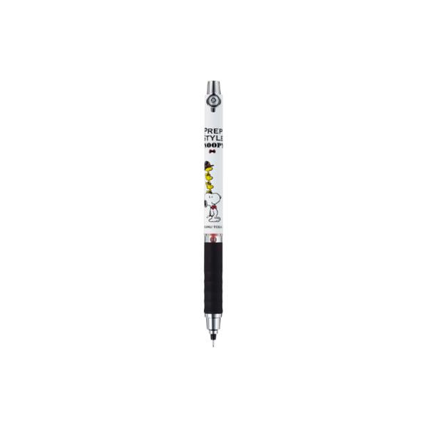 クルトガ シャープ(ラバーグリップ)【Sハット(スヌーピー)】 三菱鉛筆 M5-856PN1P-SH