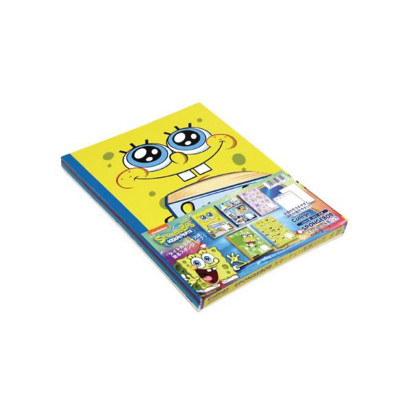 スポンジ・ボブ スマーティー B5 パックノート 5冊束 キョクトウ U14105 【メール便OK】