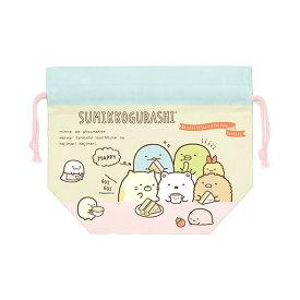 すみっコぐらし ランチ巾着 【カフェのすみっこ】 サンエックス CU33101