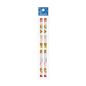 リラックマ 赤鉛筆(2本入り)【ふきだし】 0016 サンエックス PN13501