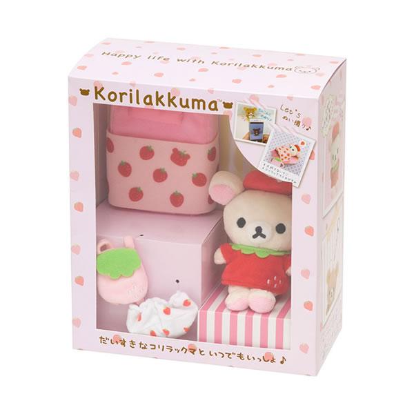 リラックマ スペシャルおきがえセット【コリラックマ・いちごBOX】 サンエックス MX45401