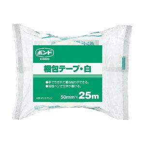 ●梱包テープ 【白 50mm×25m】 コニシ 67919