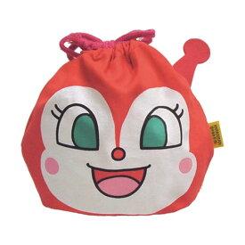 アンパンマン フェイス巾着 【ドキンちゃん】 伊藤産業 ANP-800-012046