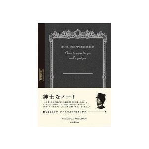 アピカ 紳士なノート プレミアムCDノート A6 無罫 CDS70W 万年筆 ノート おしゃれ かっこいい シンプル 無地ノート