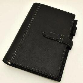 ASHFORD(アシュフォード) システム手帳 ディープ BIBLE 19mm ベルト 7238-011 ブラック 【ペンハウス】(14000)