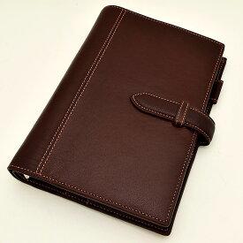 ASHFORD(アシュフォード) システム手帳 ディープ BIBLE 19mm ベルト 7238-022 ブラウン 【ペンハウス】(14000)