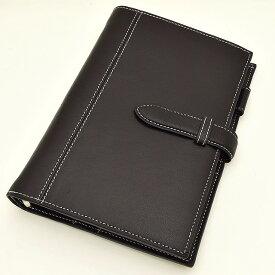 ASHFORD(アシュフォード) システム手帳 ディープ BIBLE 19mm ベルト 7238-077 ネイビー 【ペンハウス】(14000)