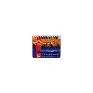 カランダッシュ CARAND'ACHE パステル ネオカラーI 7000-315 15色(缶入)【 プレゼント ギフト 】【ペンハウス】 (3900)