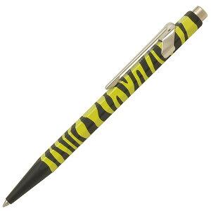 名入れ ボールペン カランダッシュ ボールペン 限定品 849 ゼブラ 0849-610 イエロー 缶ケース入り 名前入り 1本から 名入れボールペン プレゼント 男性 女性 高級ボールペン 高級筆記具