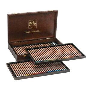 カランダッシュ CARAND'ACHE 色鉛筆 ルミナンス6901油性色鉛筆 6901-476 76色木箱セット 【 プレゼント ギフト 】【ペンハウス】 (53000)